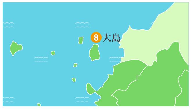 大島地域拡大図