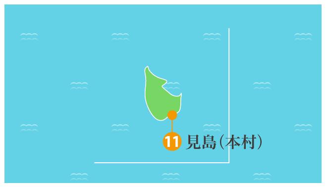見島(本村)拡大図