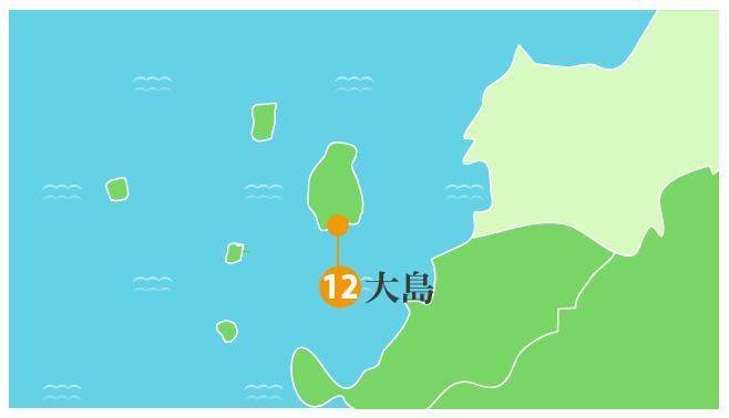 大島拡大図