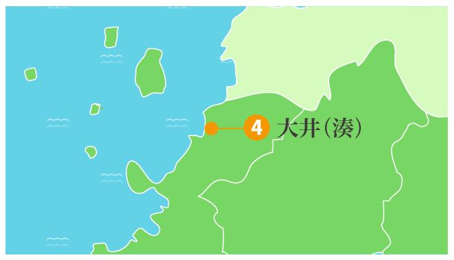 大井(湊)拡大図